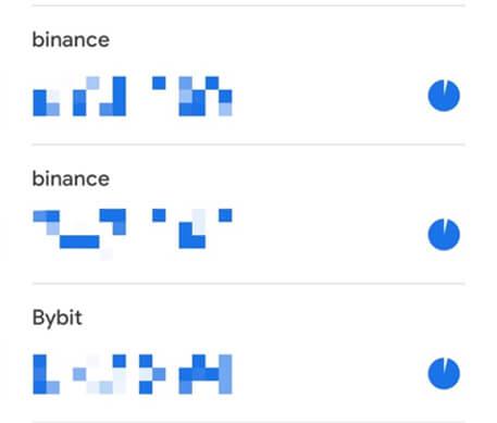 Google二段階認証アプリにbybitバイビットを登録